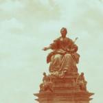 Das Maria-Theresien-Denkmal in Wien